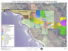 Point Arena Ranch Zoning Map